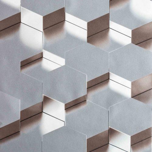 tapeta geometryczna